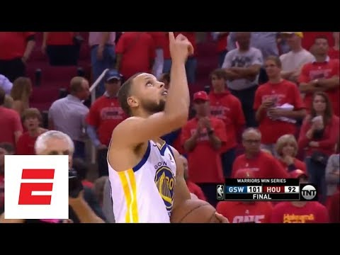 Best moments from Warriors defeating Rockets in Game 7 of 2018 Western Conference finals | ESPN