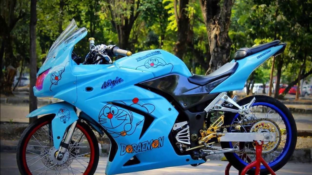 Modifikasi Kawasaki Ninja 250 Velg Jari Jari Part 2