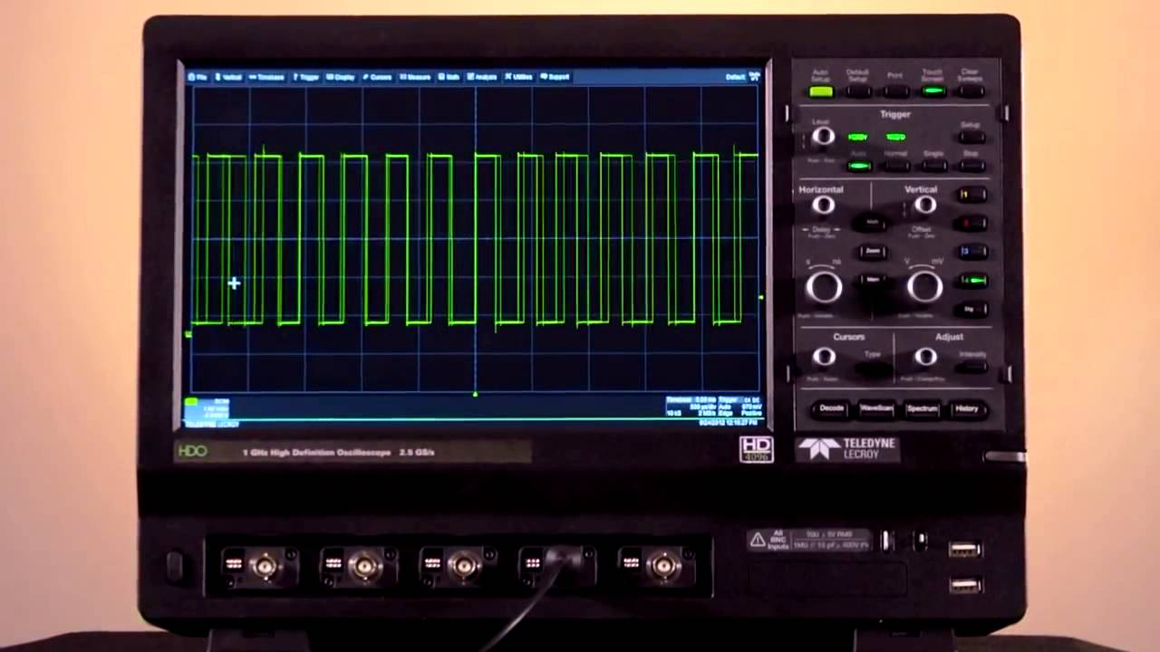 Drivers: Teledyne LeCroy HDO4000 Oscilloscope