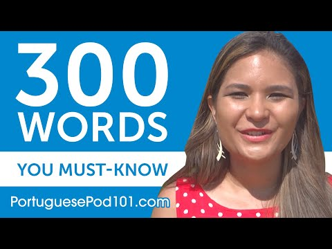 300 Words Every Portuguese Beginner Must Know