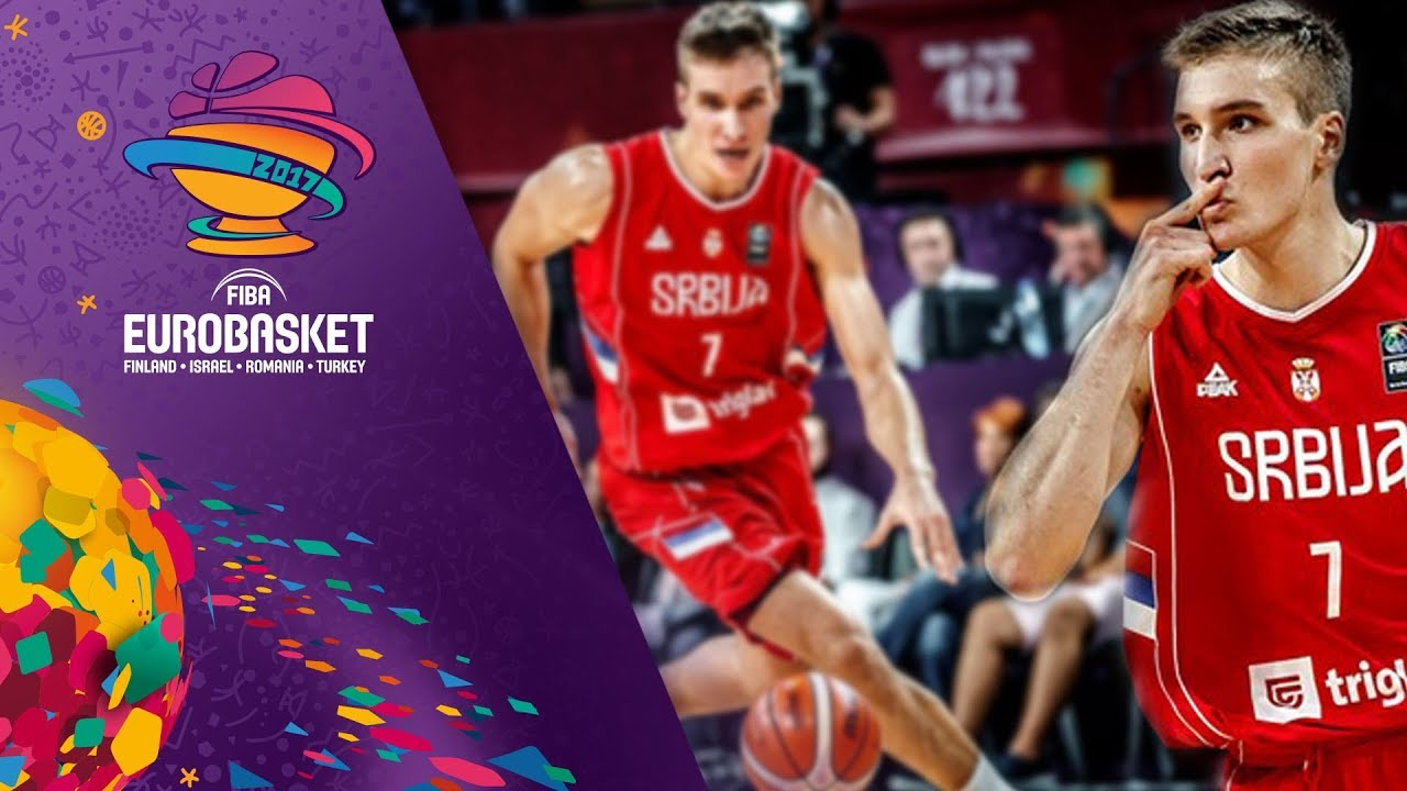 Bogdan Bogdanovic with 24 points as Serbia reach the Final!