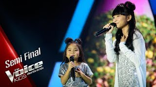 มณี&มินา - What A Wonderful World - Semi Final - The Voice Kids Thailand - 24 June 2019
