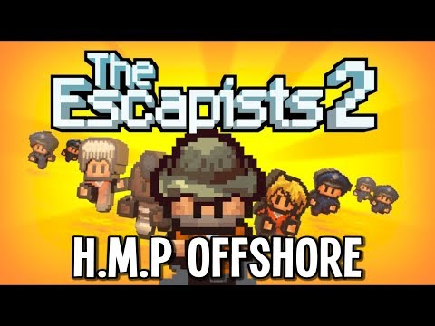 The Escapists 2 - HMP Offshore Platform Prison! - Escapists 2 Gameplay - Episode 16