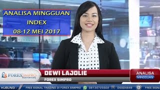 Analisa Mingguan Index 08-12 Mei 2017