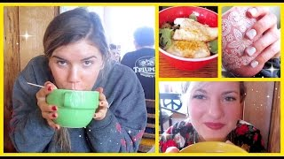 HEALTHY BREAKFAST + LATE NIGHT CHAT! // vlogember day 8