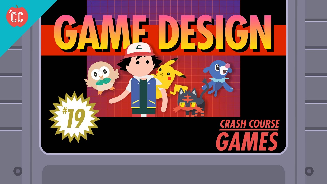 Game Design Crash Course Games YouTube - Game design courses