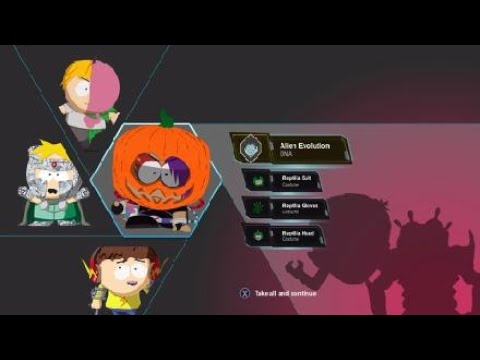 South park the fractured but whole bring the crunch DLC final boss |