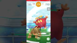 Pokemon Go - Tier 2 Darumaka Raid w/ 5 players