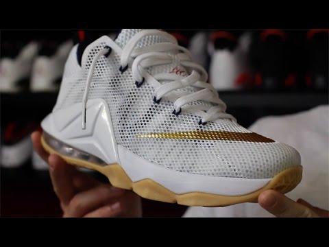 8c3651dbc33c7 Nike LeBron 12 Low  USA  - YouTube