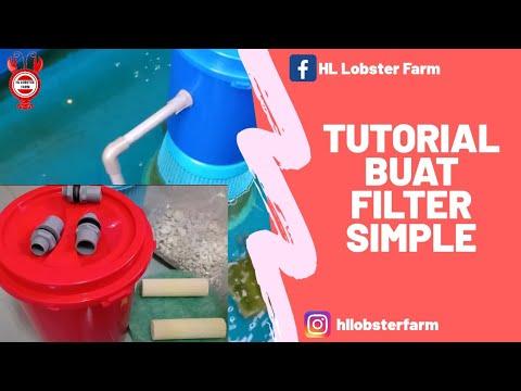 tutorial diy filter kolam simple dan murah! - youtube