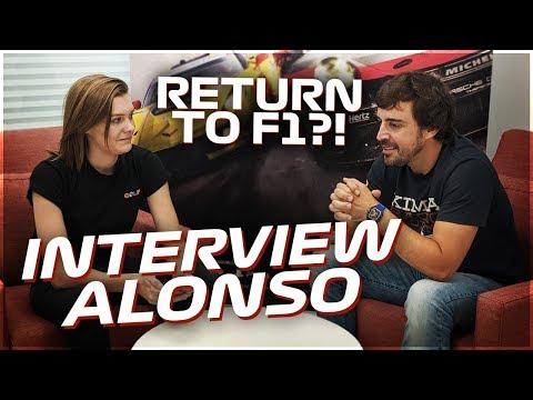 WILL FERNANDO ALONSO RETURN TO FORMULA 1!?