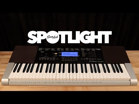 Casio CTK-4400 61-Key Portable Keyboard Overview