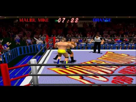 Power Move Pro Wrestling (PSX) HD 1995