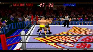 Power Move Pro Wrestling (PSX) HD 1995