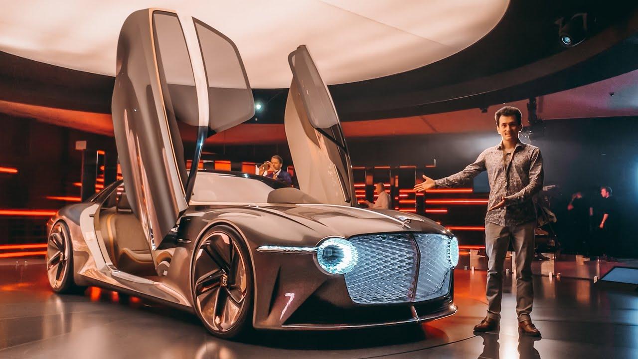 BENTLEY из… 2035 ГОДА!!! ДВЕРИ-ГИГАНТЫ! 1200 лс - concept car EXP 100 GT. #BENTLEY100Years