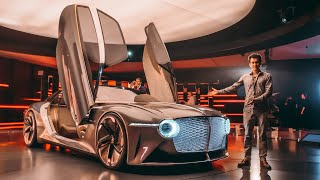 BENTLEY из 2035 ГОДА!!! ДВЕРИ-ГИГАНТЫ! 1200 лс - concept car EXP 100 GT. #BENTLEY100Years