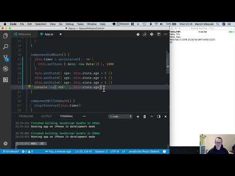 React Native Tutorial - Getting Started #9 - Set State thumbnail