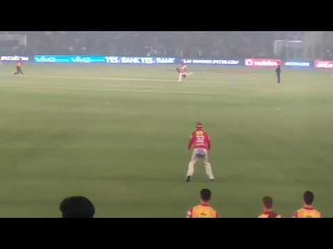 Such a awesome caught by  Maxwell  in mohali stadium