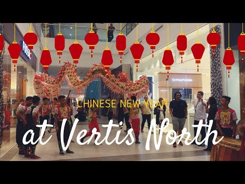 Chinese New Year 2018 at Ayala Malls Vertis North!