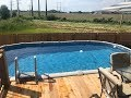 Pool Factory pool install | Above Ground Pool | 12X24