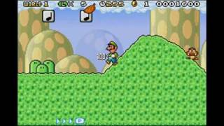 Playthrough - Super Mario Advance 4: Super Mario Bros. 3 (e-Reader Enhanced) - World 1 (1) (Part 1)