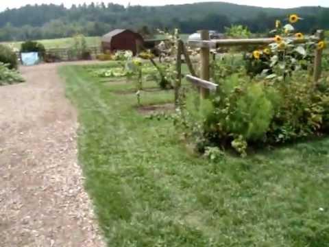 Biltmore Estate Kitchen Garden - Asheville, North Carolina - YouTube