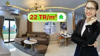 NHÀ MẪU CĂN HỘ PARKVIEW APARTMENT BÌNH DƯƠNG 54m2 | TỔNG THẦU TECCO MIỀN NAM | #4k #parkview