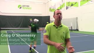 Why You Should Hit an Inside Out Forehand Return of Serve (Your Return - Episode 19)