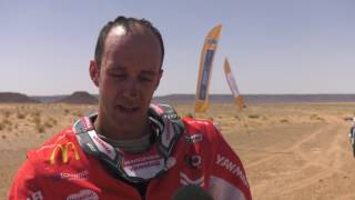 Race summary - Stage 2 - Afriquia Merzouga Rally 2017