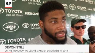 Devon Still Focused On Football Again With Daughter Leah's Cancer In Remission