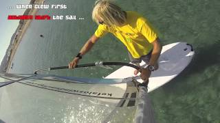 How to Heli Tack - basic windsurfing moves