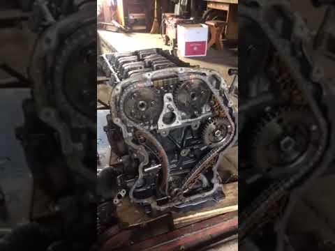 Форд Транзит  2.4  ТД    16 клапанов  замена цепи ГРМ !!!