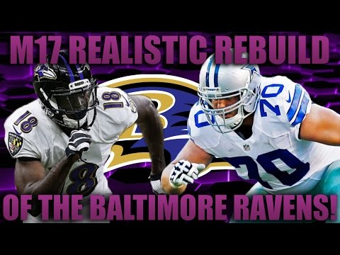 Madden 17 Franchise   Realistic Rebuilding of The Baltimore Ravens! Best Rookies Drafts!!