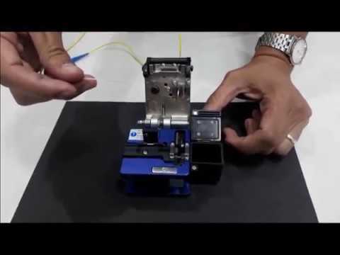 FIBER OPTIC CABLE CLEANING AND CLEAVING