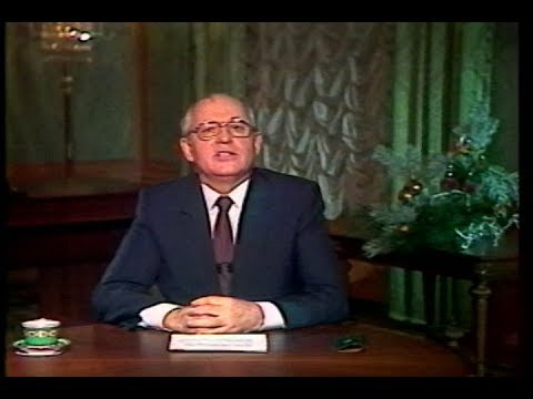 General Secretary Mikhail Gorbachev's New Year's Address to the American People on December 31, 1987