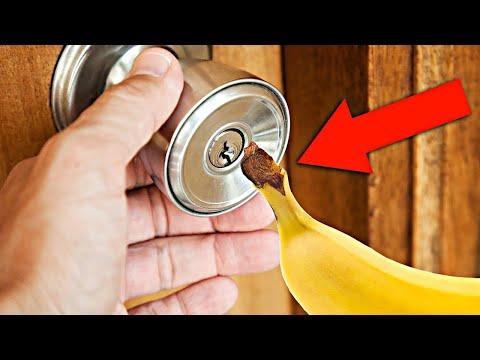 Как открыть навесной замок без ключа видео