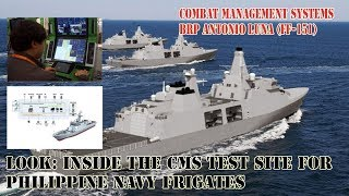 LOOK: Inside the CMS (Combat Management Systems) test site for Philippine Navy frigates