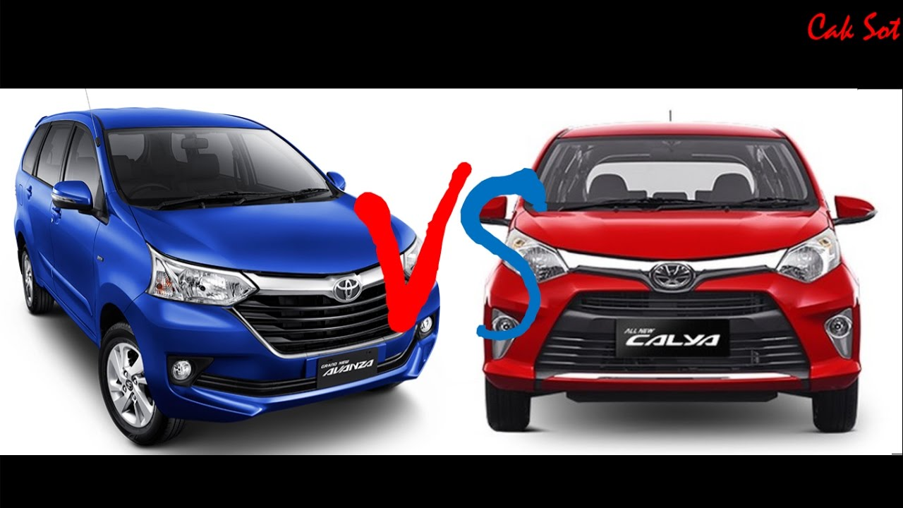 Perbandingan Toyota Avanza Dan Astra Toyota Calya YouTube