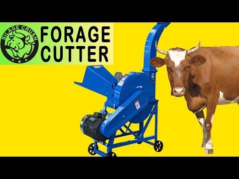 2.5~4t/h forage cutter/grass crusher/fodder chopper machine-FC 2.5