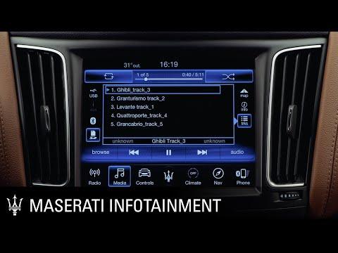 Maserati. Infotainment series. Media