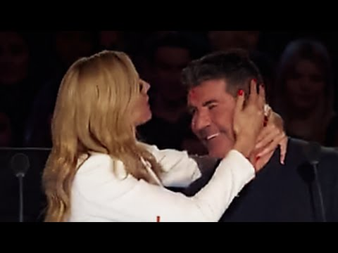 Heidi Klum Attacks Simon With A Big Fat *** | America's Got Talent 2016 | Episode 6