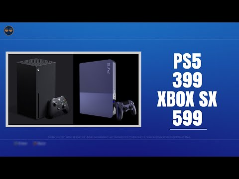 PLAYSTATION 5 ( PS5 ) 9.2 TF $399 vs XBOX Series X 12 TF 599 ? ( Listen to the Whole Video )