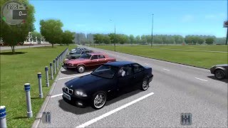 BMW M3 Drifting City Car Driving 1.5 w/ logitech g27 (60 FPS)