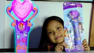 disney sofia the first recording microphone kids toys