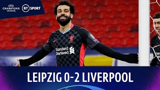 Leipzig v Liverpool (0-2) | Salah and Mané give Reds timely win! | Champions League Highlights