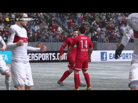 Let´s Play Together FIFA 16 Karrieremodus - Part 9 - Deutsches Pokalspiel gegen den VfB Stuttgart
