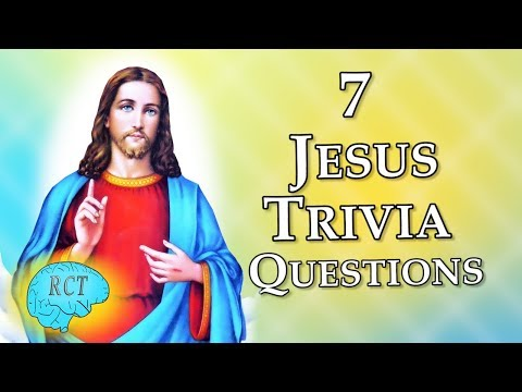 Can you Answer these 7 Jesus Questions?