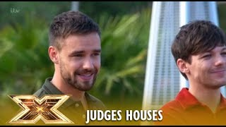 louis tomlinson reunites with his 1d mate liam payne the x factor uk 2018
