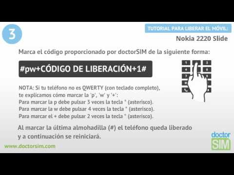 Liberar móvil Nokia 2220 slide | Desbloquear celular Nokia 2220 slide