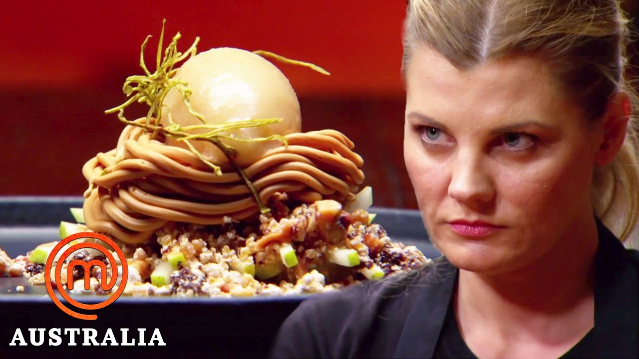 Download Guessing a Dish From a Food Critic Review!   MasterChef Australia   MasterChef World